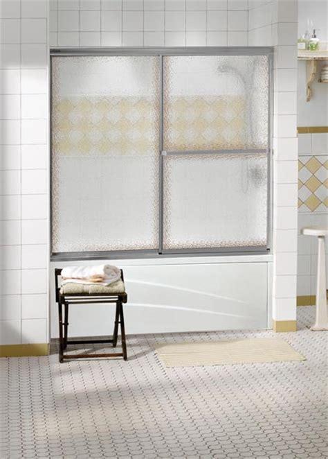 Keystone Shower Doors Shower Enclosures Sliding Tub Doors Decor Plus Raindrop Glass Chrome Frame 2 Keystone