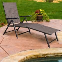 Folding Chaise Lounge Chairs Outdoor Design Ideas Adjustable Lounger Outdoor Folding Chaise Lounge Chair Patio Furniture Pool New Ebay