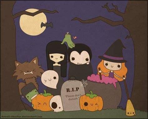 imagenes kawaii de hallowen chibi halloween fun via facebook image 1304413 by