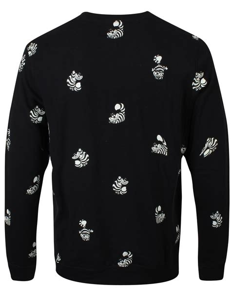 Sweater Cat April Merch vans disney cheshire cat s crew neck sweatshirt buy
