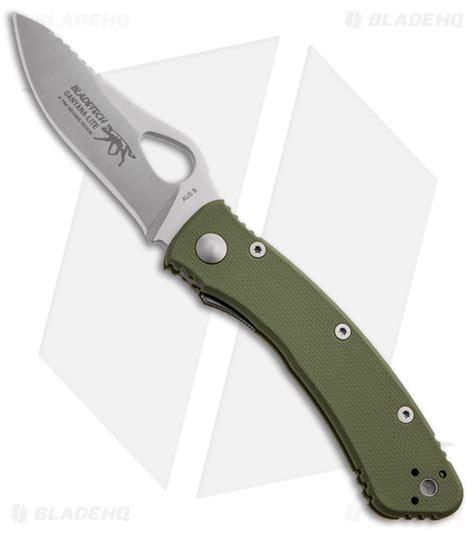 blade tech knives blade tech ganyana lite liner lock knife green frn 2 75