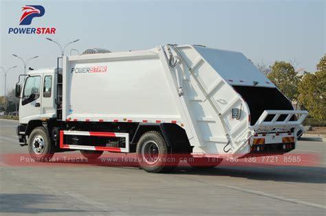 latest compactor garbage truck isuzu cbm  price