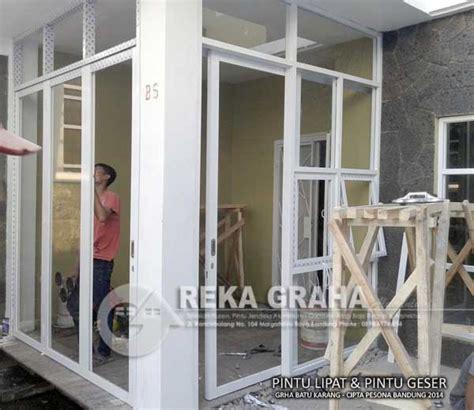 Jual Sisir Lipat Di Bandung pintu lipat aluminium bandung cimokolan cipamokolan harga