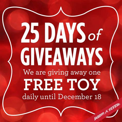 Radio Giveaways - radio flyer s 25 days of holiday giveaways win an all terrain steel wood wagon