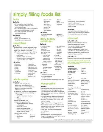 lisr pdf 2016 simply filling foods list weight watchers 2016 can