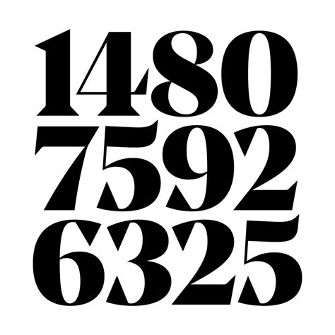 Design Number Definition | noe display typeface review typographica typography