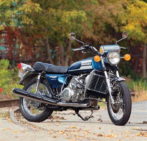 Yamaha Motorrad Z Rich by 1975 Suzuki Re 5 Rotary Motorcycle Classic Japanese