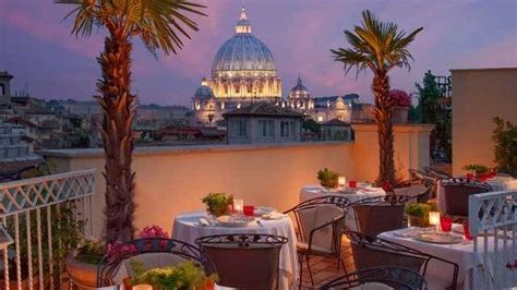 roof top bar rome hotel raphael rome italy world s best rooftop bars
