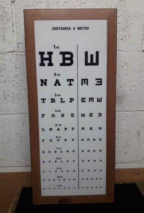 tavola oculista tavola tabella insegna luminosa oculista optometrica
