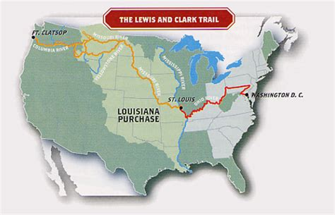 louisiana purchase interactive map westward expansion on the trail of the lewis and clark