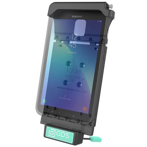 Samsung Tab V2 ram gds dock v2 sam29u ram gds 174 vehicle dock for the