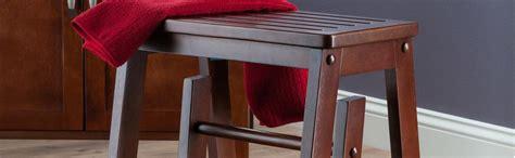 winsome wood step stool antique walnut