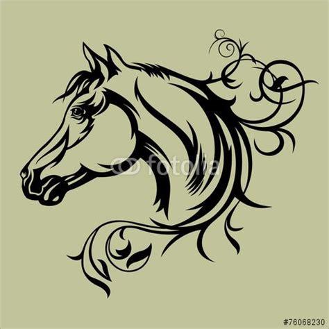 tattoo tribal cheval 17 meilleures id 233 es 224 propos de tribal horse tattoo sur