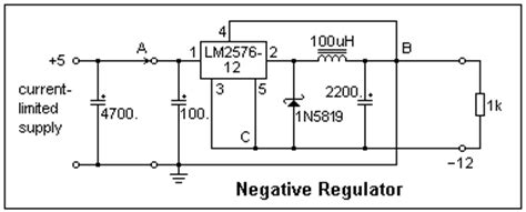 lm2576 inductor value switching regulator