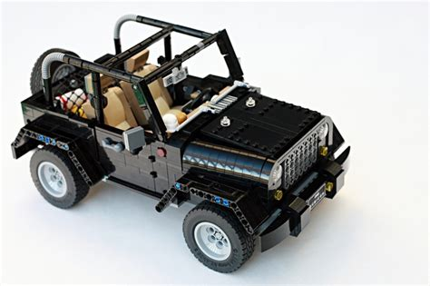 lego mini jeep lego jeep wrangler rubicon a block made of blocks