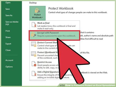 how to open excel sheet with password protected how to password protect an excel spreadsheet with pictures