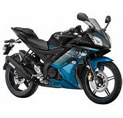Yamaha YZF R15 Version 20 Streaking Cyan Special Edition  Showing