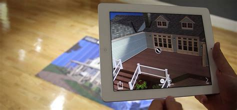 augmented reality home design ipad azek augmented reality home improvement app marxent