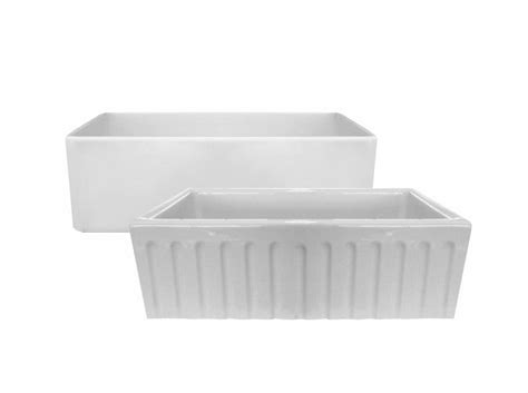 latoscana 33 reversible fireclay farmhouse sink latoscana reversible fireclay farmhouse sink lfs3318w