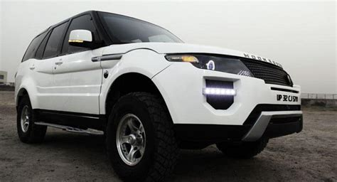 land rover tata indian tuner transforms tata safari into the moon rover
