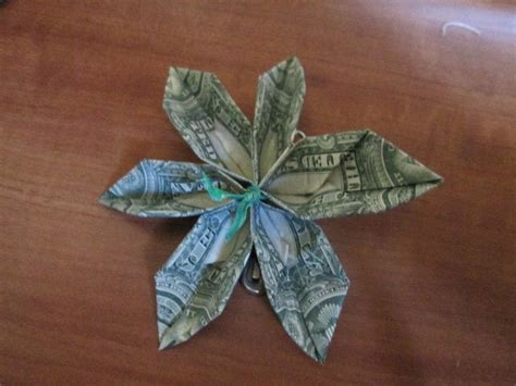 How To Make Money Origami Flower - origami money flower how to 183 how to make a flowers