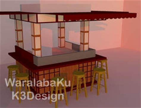 desain gerobak milkshake desain booth produksi booth desain interior gerobak
