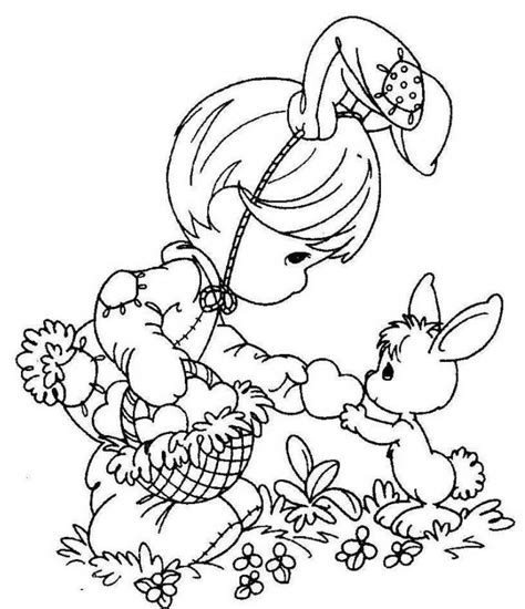 Precious Moments Coloring Pages Easter by Free Easter Printables Free Easter Coloring Pages For