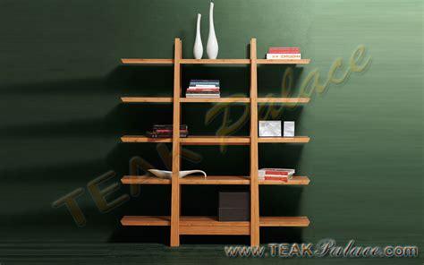 Rak Toko Buku rak pajangan buku kayu jati minimalis harga murah unik