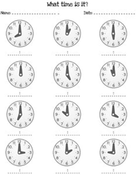 printable clock worksheets to the hour printable telling time worksheets the large and most