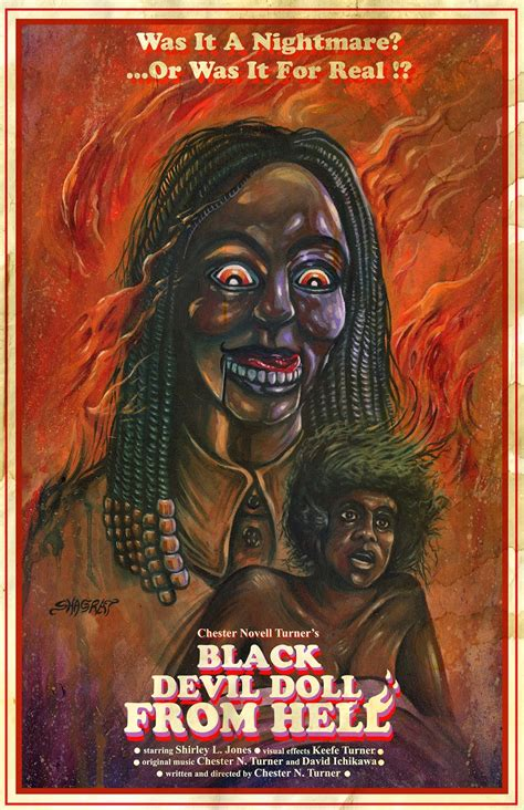 the black doll from hell killer dolls horrors you must see