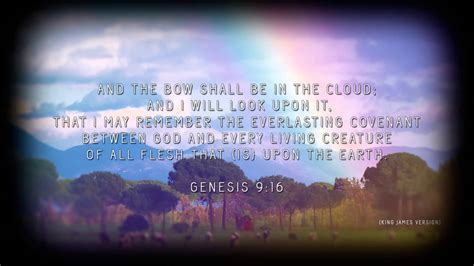 genesis covenant rainbow the sign of god s covenant with living creature
