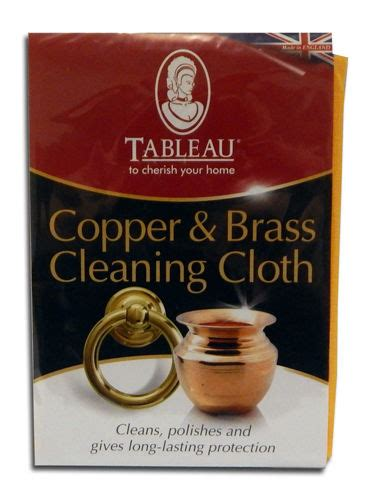 How To Clean A Brass L by Tableau Copper And Brass Cleaning Cloth The Easy Way To