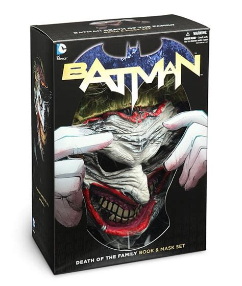 Dc Comics Batman Death Of The Family Book And Joker Mask