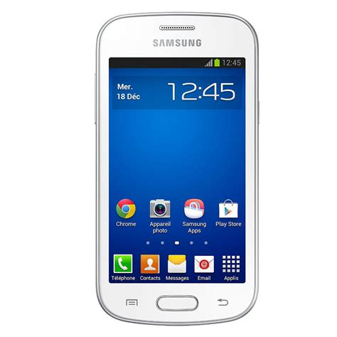 Galaxy Trend Lite Gt S7390 by Samsung Galaxy Trend Lite Gt S7390 Blanc Mobile