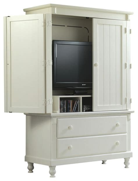 white entertainment armoire homelegance pottery 44 inch tv armoire in white