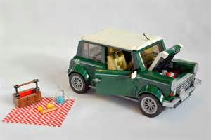 Mini Cooper Lego Lego And Bmw Reveal 1 077 Part Mini Cooper Ran When Parked
