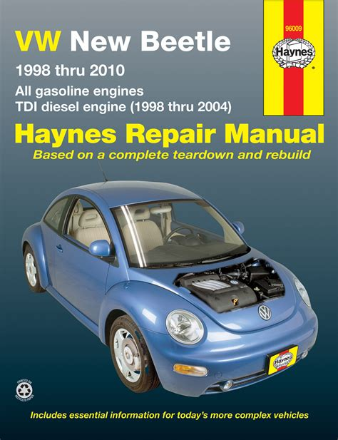 automotive service manuals 2000 volkswagen new beetle electronic valve timing volkswagen vw new beetle 1 8 2 0l petrol 1998 2010 1 9l tdi diesel 1998 2004 haynes