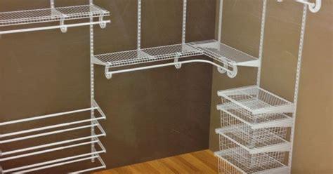 Closetmaid Wire Shoe Rack Closetmaid White Wire Closet For Master Closet And The
