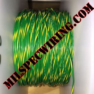 18awg wire green yellow