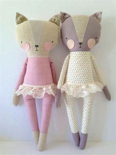 Cat Doll by Mu 241 Ecos Mu 241 Ecos De Tela Dolls And Softies