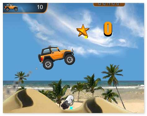 play free online games bike racing monster truck rocky rider 1
