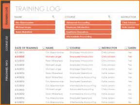 5 training log template divorce document