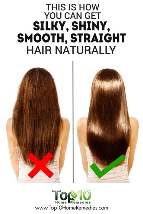 14 Tips For Shiny Hair by Best 25 Silky Smooth Hair Ideas On Hair Tips