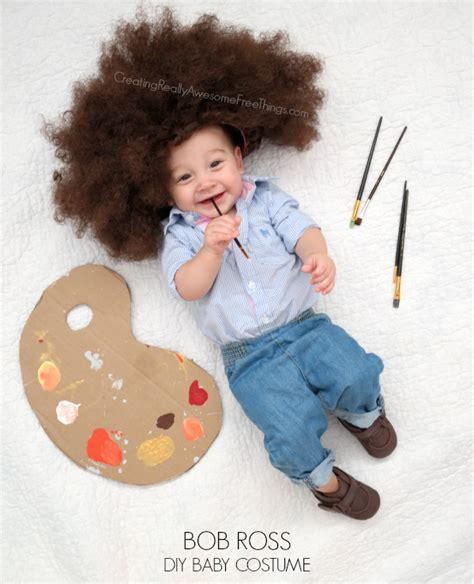 diy bob ross costume diy baby costumes cute baby