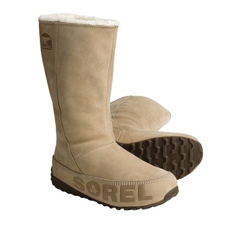 s fleece lined boots sorel suka boots leather fleece lined for
