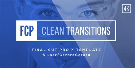 final cut pro transitions transitions pack fcpx by gerardgerard videohive