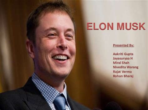 elon musk biography ppt elon musk and his innovations