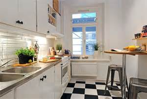 Interior Design Ideas For Small Kitchen Apartment Small Modern Style Kitchen Studio Apartment