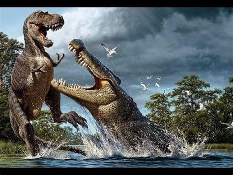 El Cocodrilo Más Grande Del Planeta - YouTube Giant Alligator Dinosaur