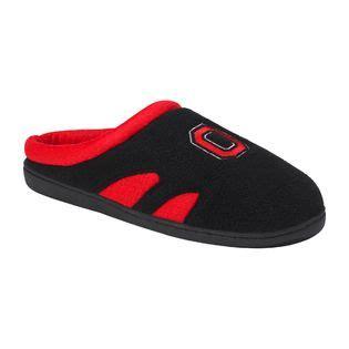ohio state slippers mens collegiate s ohio state scuff slippers